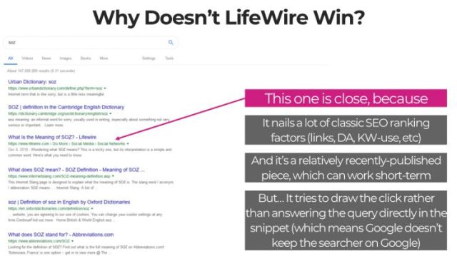 why doesn't lifewire win?