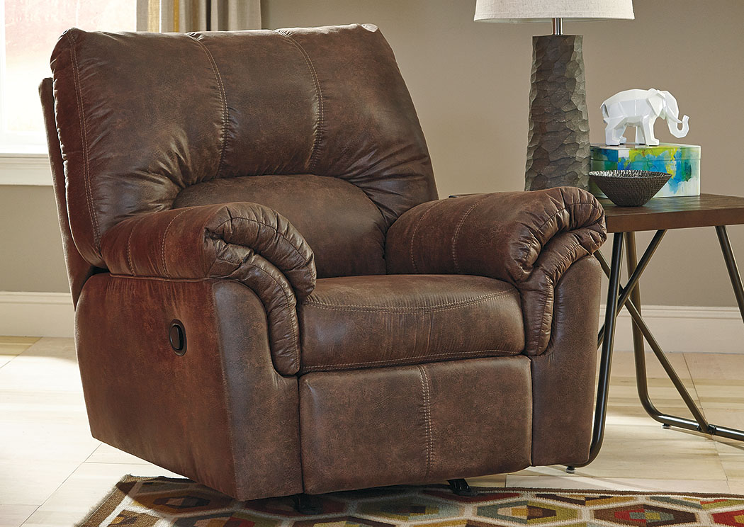 Rossie Furniture Hammond LA Bladen Coffee Rocker Recliner
