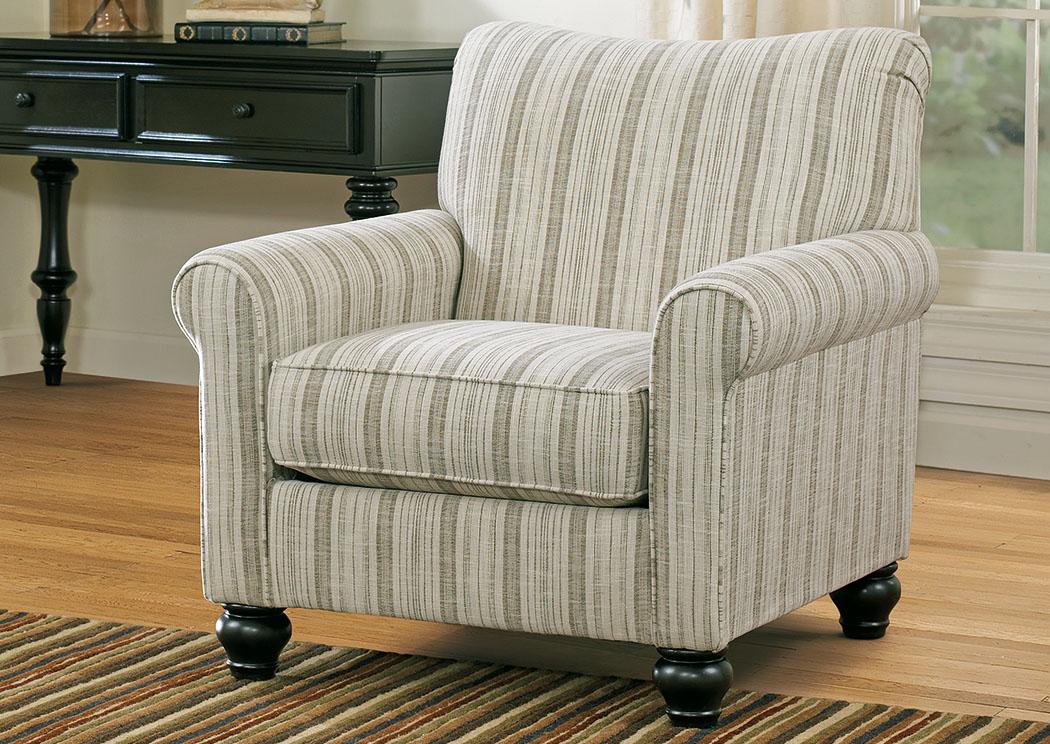milari linen accent chair signature design by ashley