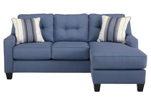 Gorees Furniture Opelika AL Aldie Nuvella Blue Sofa Chaise