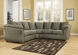 Sleep Cheap Furniture   Jersey City  North Bergen  Union City  Newark NJ Darcy Sage Sectional