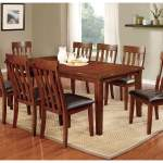 Foxville Cherry Extension Dining Table W 4 Side Chair Alexis Furniture