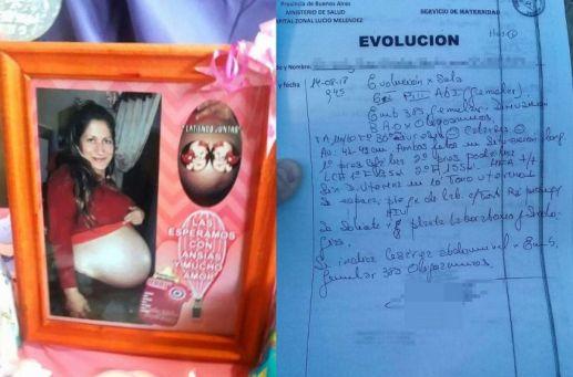 Una mujer de 34 años entró embarazada de gemelas a un hospital , pero al final sólo le entregaron una sola beba