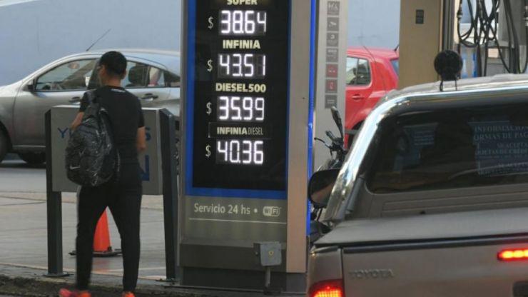 YPF aumentó el precio de la nafta: estos son los precios para Mendoza