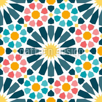 https www patterndesigns com en design 21115 arabic circle star tiles repeat pattern