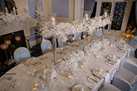 Crystal White Wedding Lusso Styling