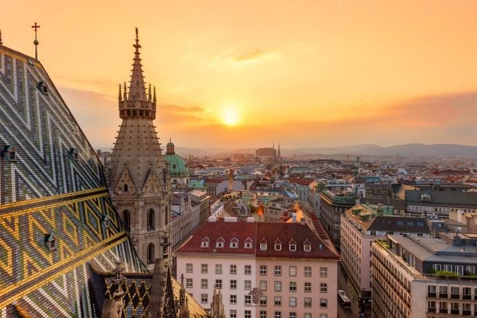 cidades mais românticas da Europa viena