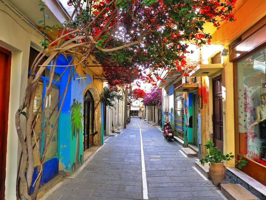 Experience In Rethymno Greece By Sandy Erasmus