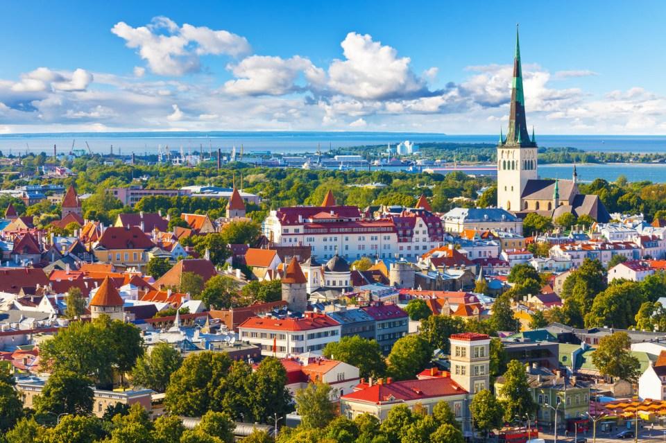 Resultado de imagem para Tallinn, Estônia