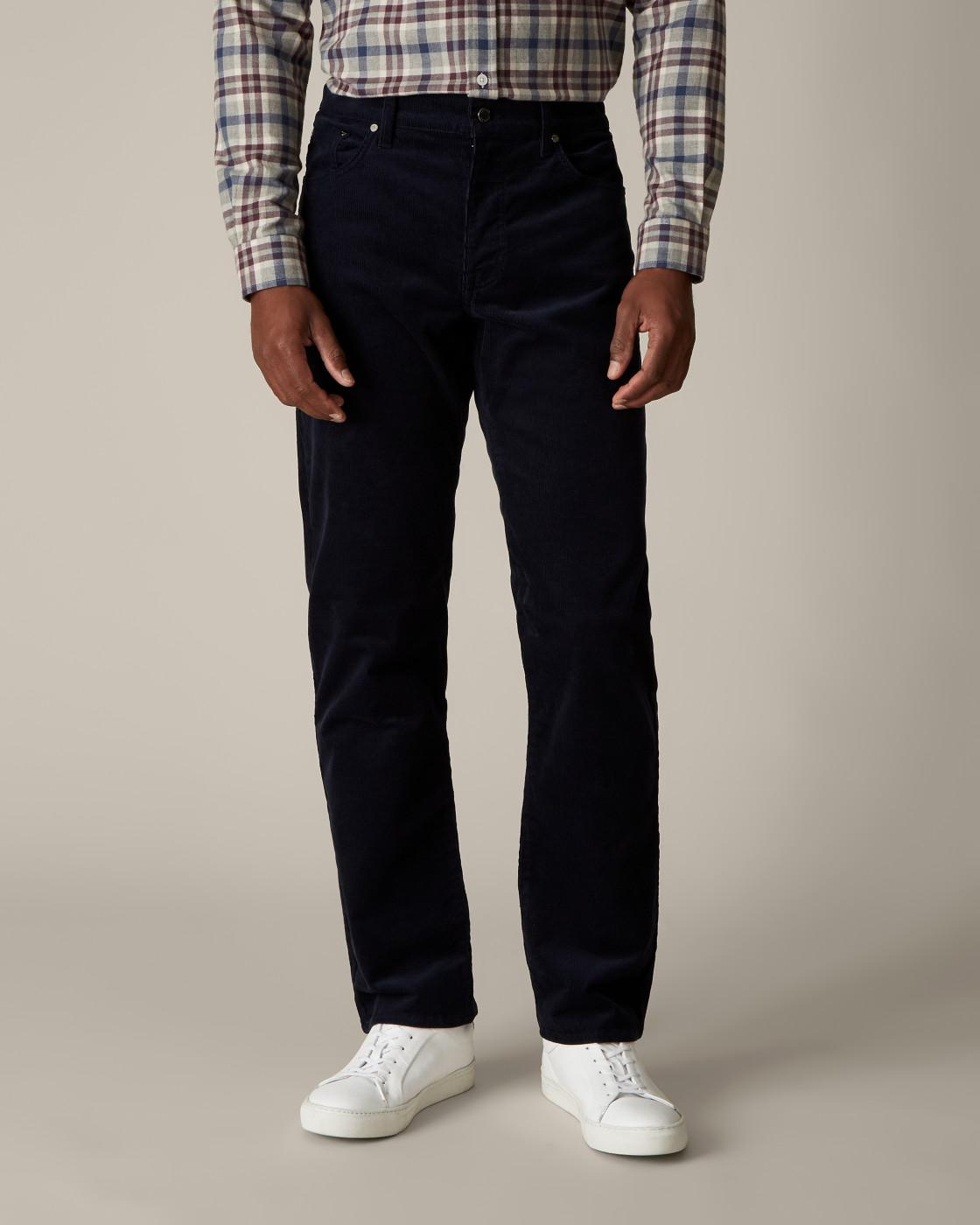 5 Pocket Corduroy Trousers By Jaeger
