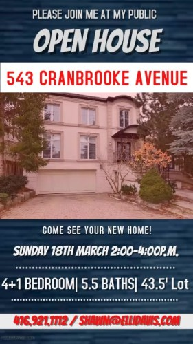 Real Estate Open House with Video