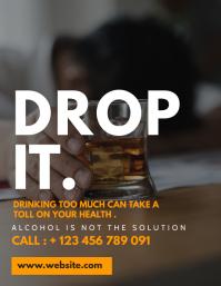 alcohol awareness customizable design