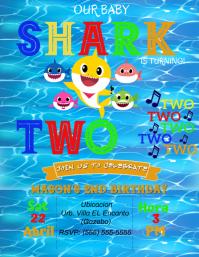 1 510 baby shark customizable design