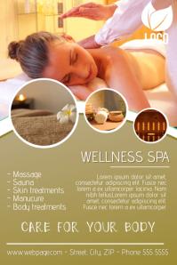 110 Customizable Design Templates For Massage Flyer
