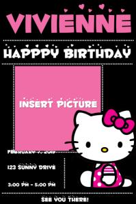 130 hello kitty customizable design