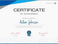 660 Certificate Customizable Design Templates Postermywall