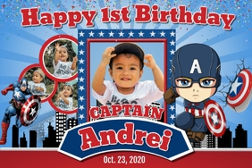 Captain Andrei Template Postermywall