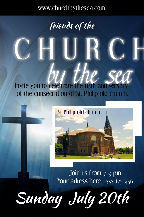 Copy Of Church Poster Template PosterMyWall
