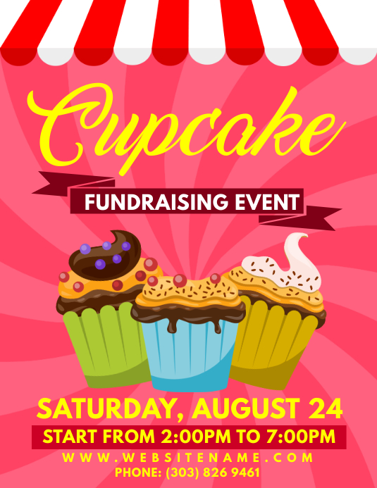 fundraising event flyer