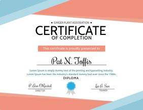 Free Printable Certificate Templates Postermywall
