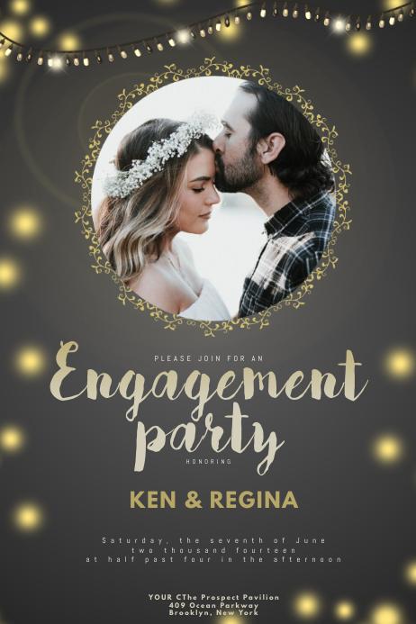 Digital Wedding Save Date