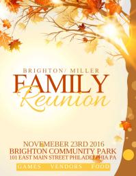 780 Family Reunion Customizable Design Templates Postermywall