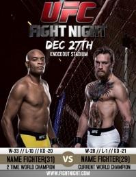 200 fight night customizable design