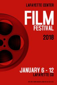 film festival customizable design