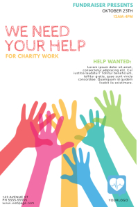 Customize 1450 Fundraising Poster Templates PosterMyWall