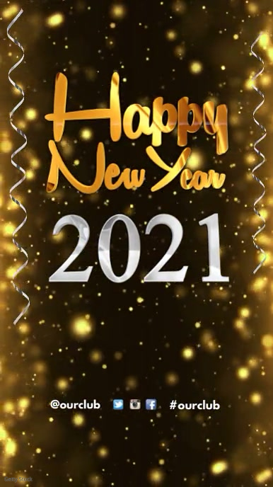 Happy New Year Greeting Template PosterMyWall