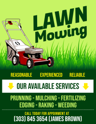 Customize 350 Lawn Service Templates Postermywall