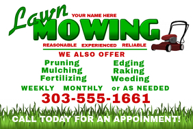 Image result for lawn care flyer