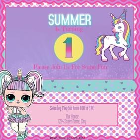 unicorn customizable design templates