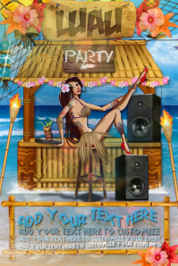 50 Customizable Design Templates For Luau PosterMyWall