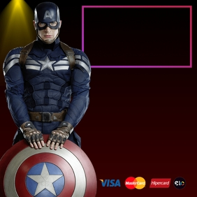 450 Captain America Customizable Design Templates Postermywall