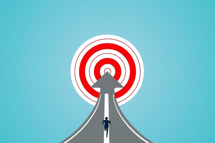Motivational Goal Target Template | PosterMyWall