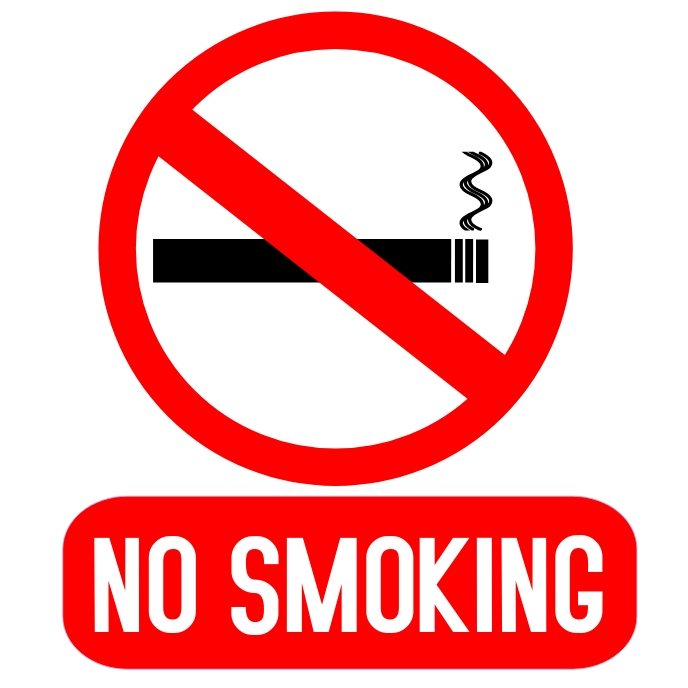 No Smoking Templat Postermywall