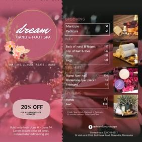 3 050 beauty salon customizable design
