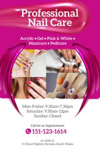 540 nail salon customizable design