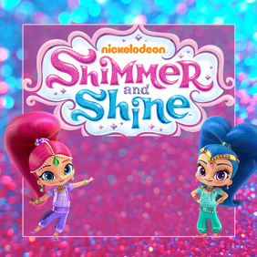 Customizable Design Templates For Shimmer And Shine Postermywall