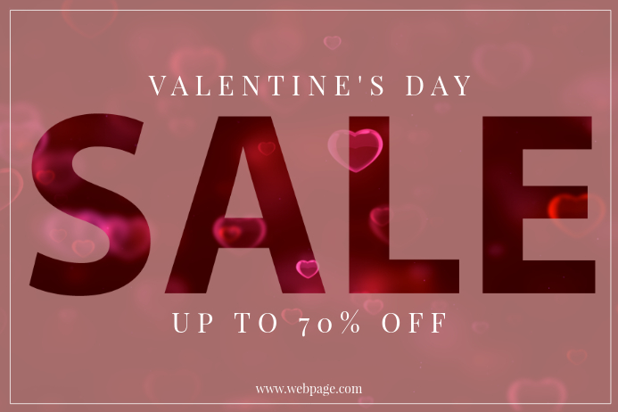 Valentines Day Sale Retail Promotion Template PosterMyWall