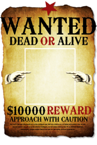 wanted posters template yerat