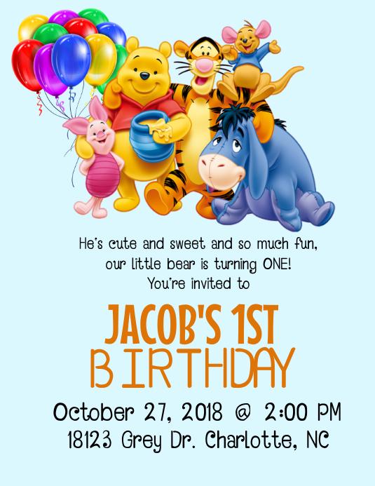 copy of winnie the pooh birthday