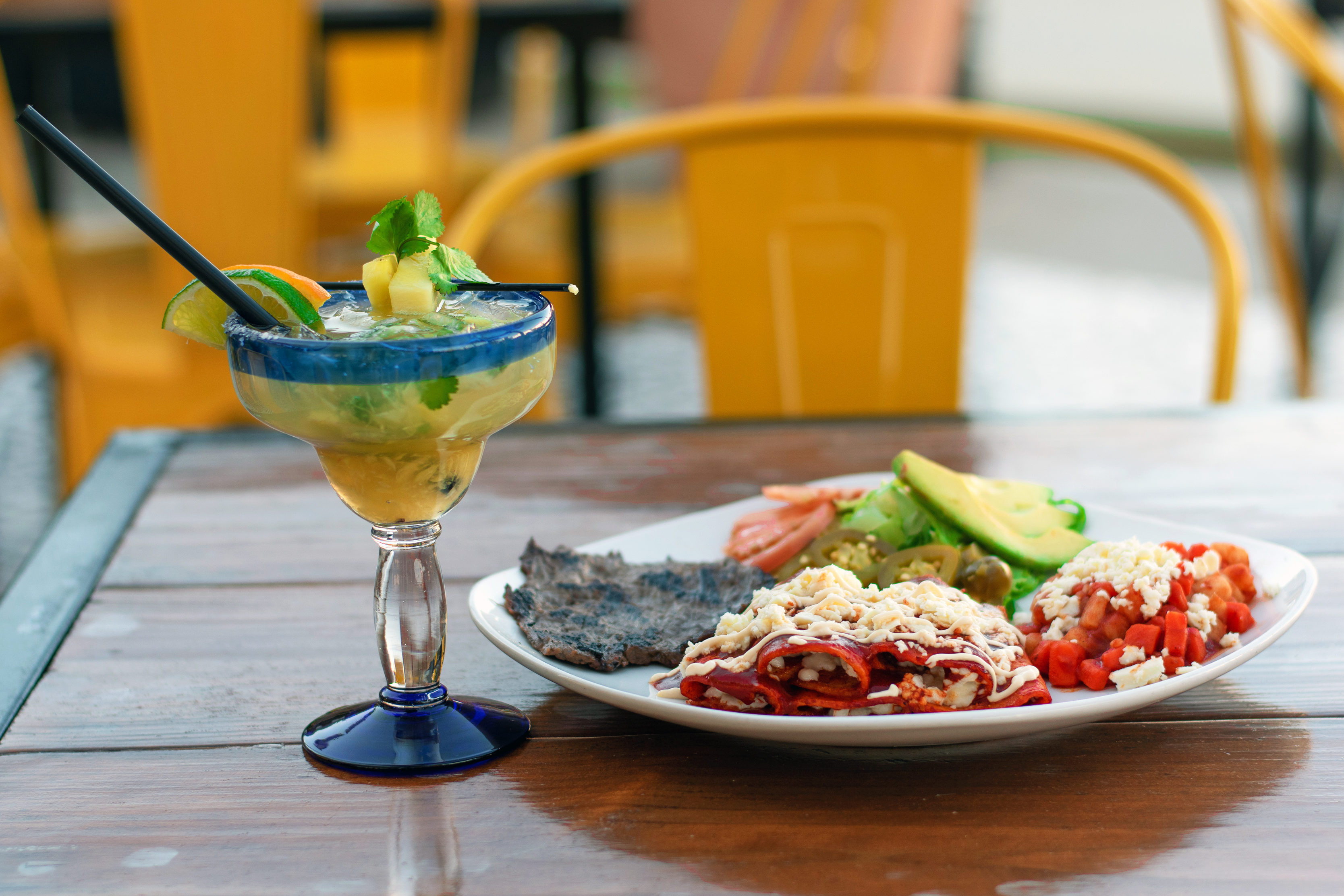 Fast Break Margaritas And Modern Mexican At The New Blue Corn Tequila Amp Tacos