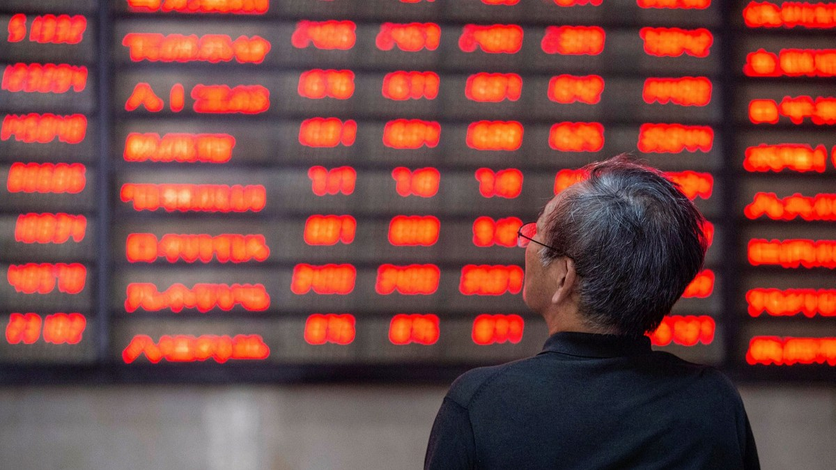 World business:China stocks can pull back when meet expectation