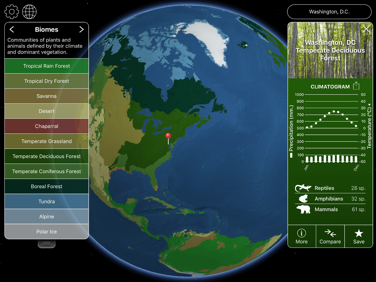 Planet Earth App Ideal For Structured Or Open Ended