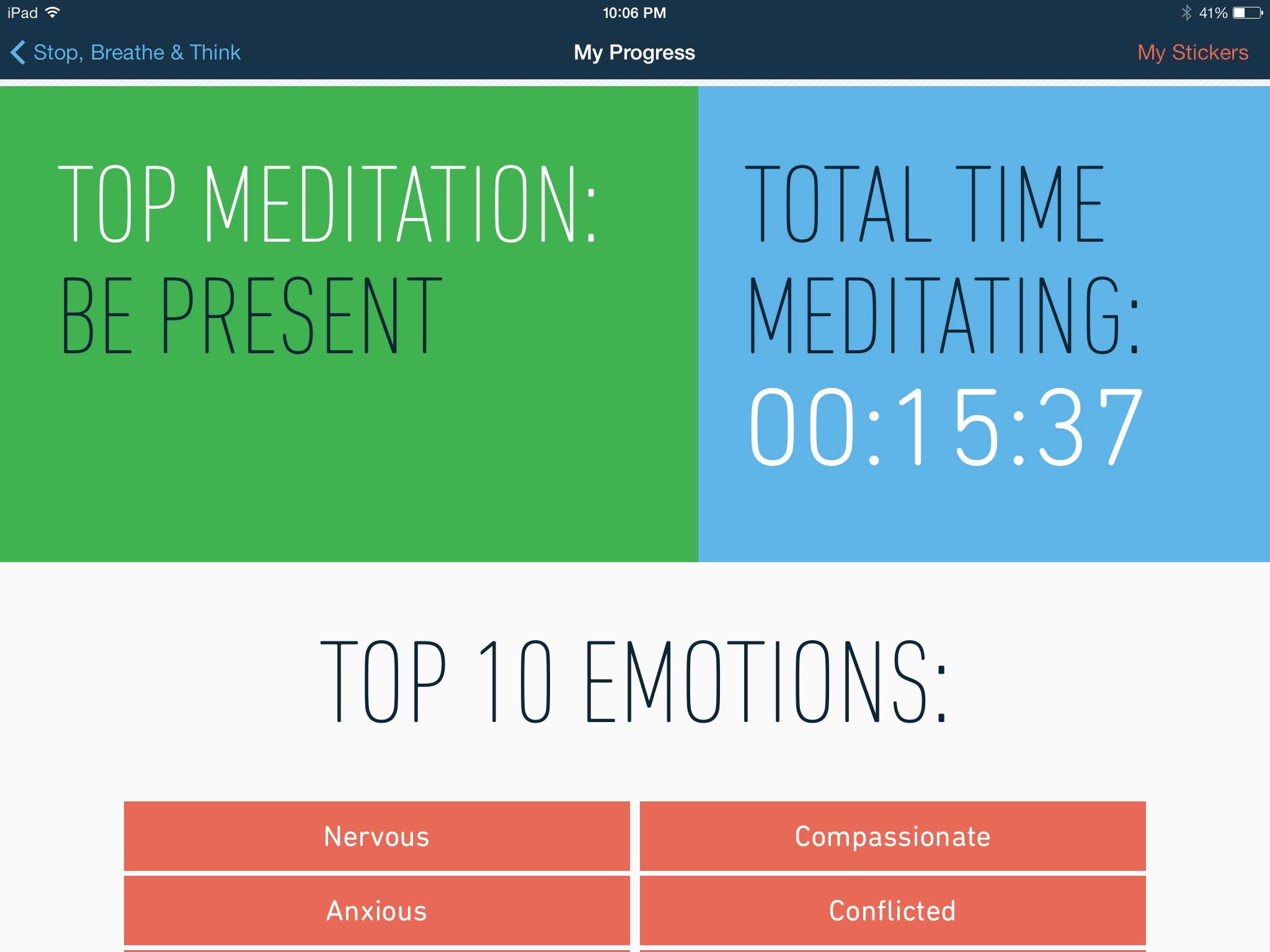 Stop Breathe Amp Think Educator Review