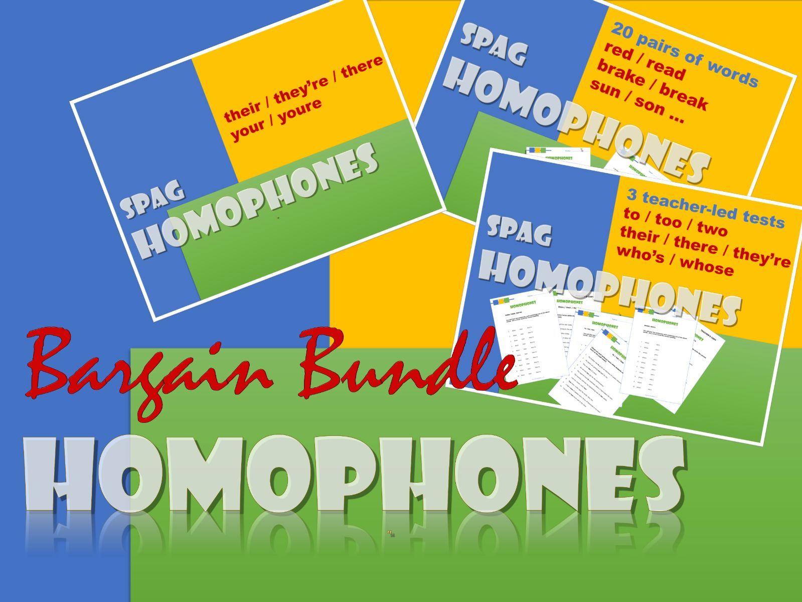 Spelling English Homophones