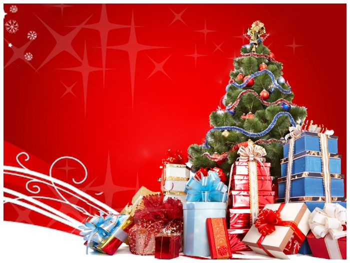MERRY CHRISTMAS POWERPOINT TEMPLATE By TemplatesVision