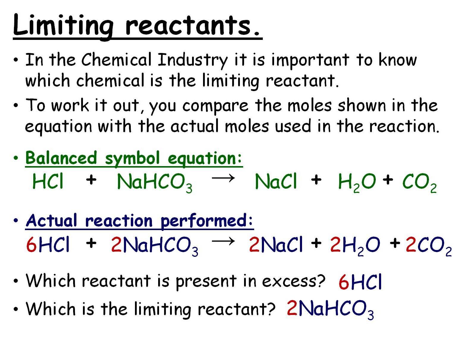 Calculations Involving Masses 5 Gcse Chemistry Lessons